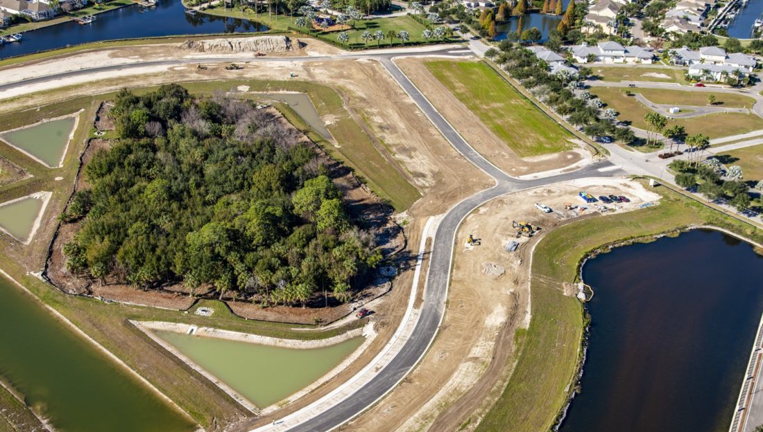 Shell Cove at MiraBay by Park Square Residential in Tampa-St. Petersburg Florida.